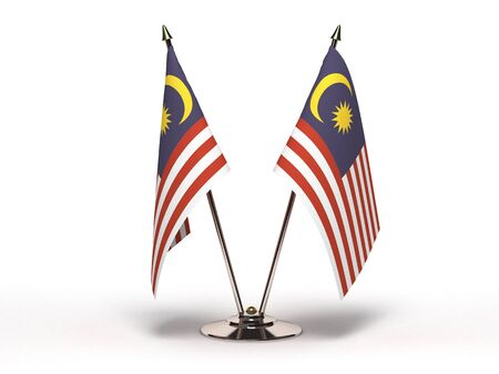 Miniature Flag of Malaysia   Stock Photo - 15498735