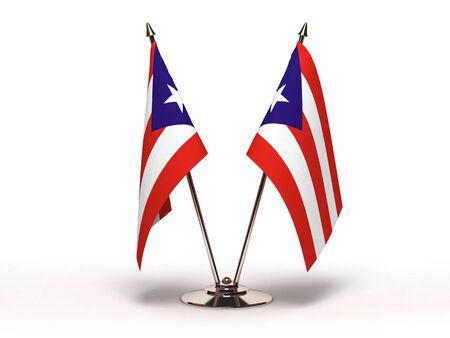 bandera de puerto rico: Bandera miniatura de Puerto Rico