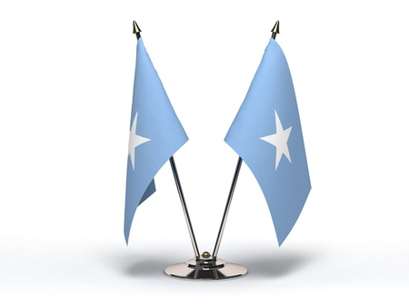Miniature Flag of Somalia Stock Photo - 15498718