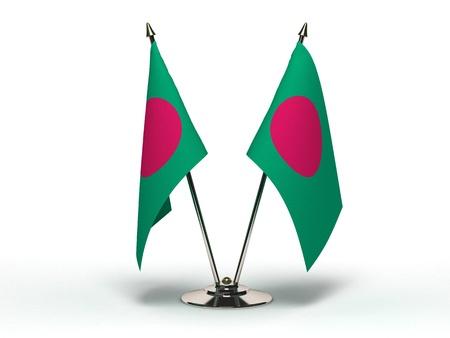 Miniature Flag of Bangladesh Isolated