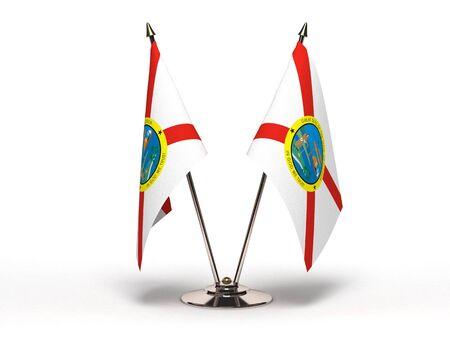 Miniature Flag of Florida Isolated  Stock Photo - 16076489