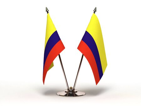 Miniature Flag of Colombia  Stock Photo - 16564493