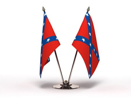 Miniature Flag of Confederate   Stock Photo - 16564519