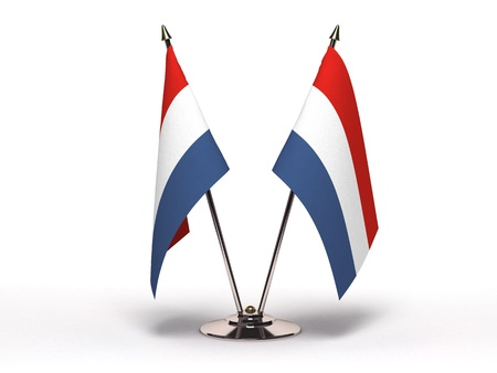 Miniature Flag of Luxembourg   Stock Photo - 16564494