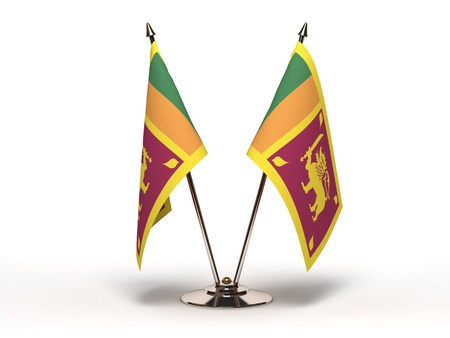 Miniature Flag of Sri Lanka Stock Photo - 16564524