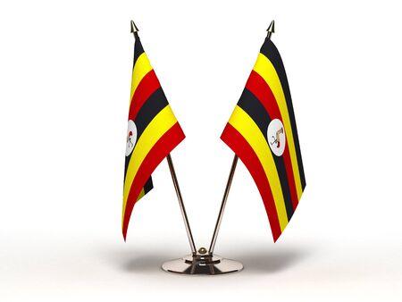 Miniature Flag of Uganda  Stock Photo - 16564499