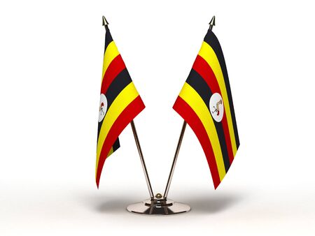 Miniature Flag of Uganda