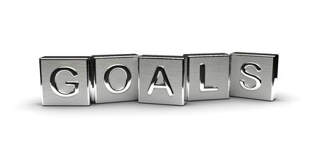 Metal Goals Text