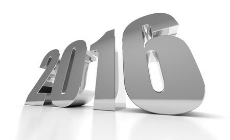 Neues Jahr 2016 Lizenzfreie Bilder