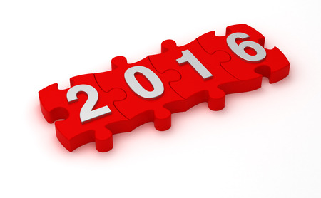 Lösung 2016 Lizenzfreie Bilder