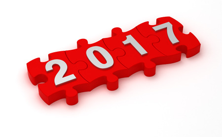 Lösung 2017 Lizenzfreie Bilder