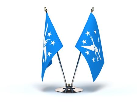 Texas Corpus Christi Flag (Flags Isolated with clipping path)