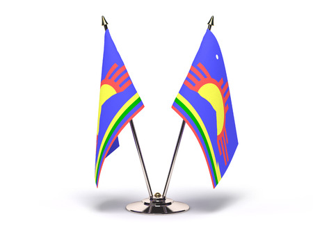New Mexico Roswell Flag (Flags Isolated with clipping path) 版權商用圖片