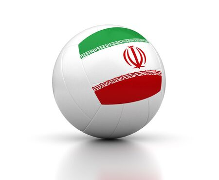 Iran Volleyball Team Banque d'images