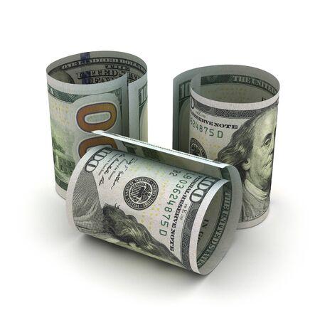 US Dollar in rolls