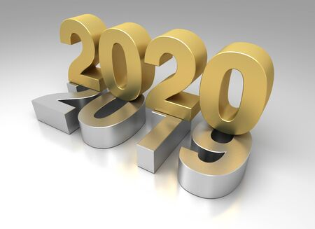 New Year 2020 from 2019