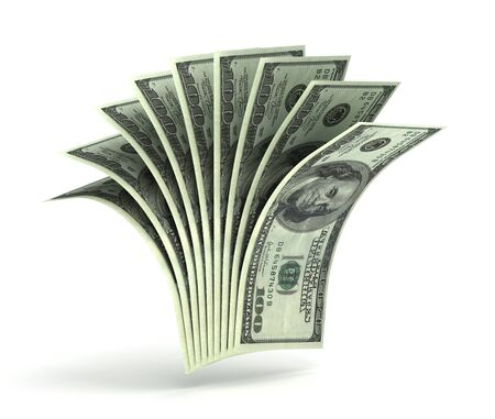 Many Dollars Banque d'images