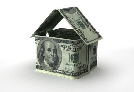 Real Estate Concept with US Dollar Banque d'images