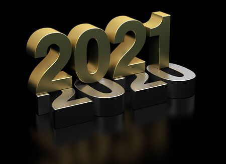 New Year 2021 from 2020