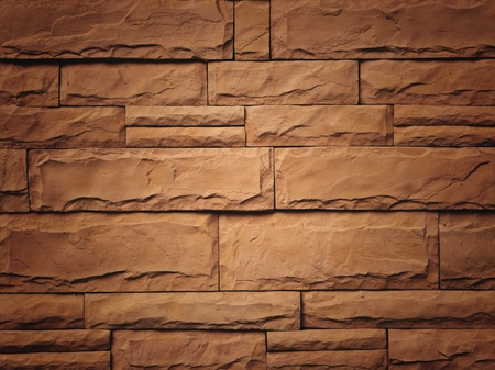 turbidity: Wall brick tile surface turbidity layer between the background scene  Stock Photo