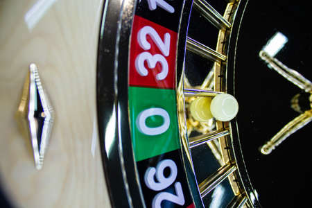 casino roulette game Stock Photo