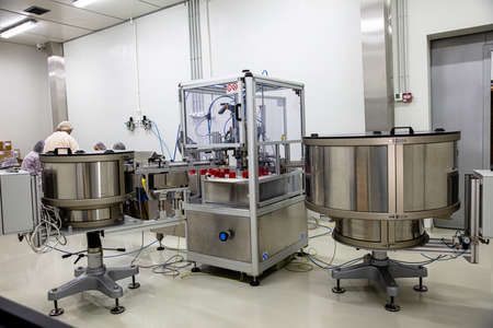 Cosmetic industry equipment and production process