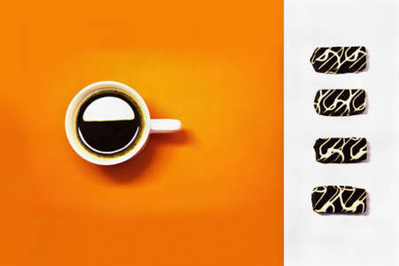 very positive photo with coffe photo