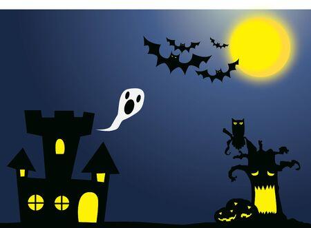 nightmare: Nightmare cartoon backdrop