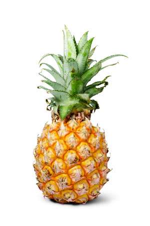 ripe: ripe pineapple Stock Photo