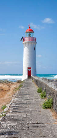 Port Fairy Lighthouse, Griffiths Island, Great Ocean Road, Victoria, Australia