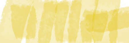 Yellow watercolor background for textures backgrounds and web banners design Ilustração