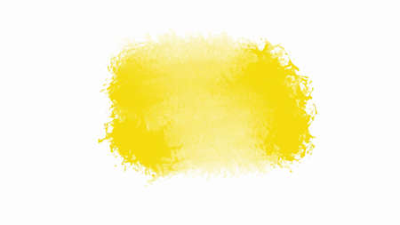Yellow watercolor background for textures backgrounds and web banners design 矢量图像