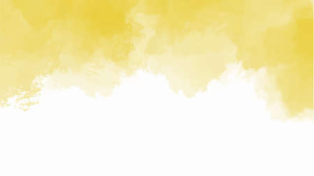 Yellow watercolor background for textures backgrounds and web banners design 免版税图像 - 158000224