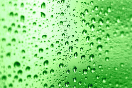 water texture: Abstract with water drops on a glass surface