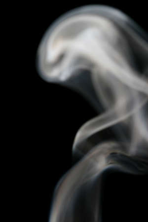 Abstract from smoke shapes Stock Photo