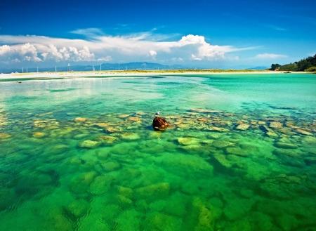 Islas Cies in Spain Stock Photo