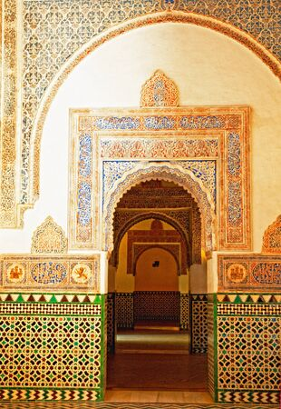 moorish: Alcazar in the old town of Granada