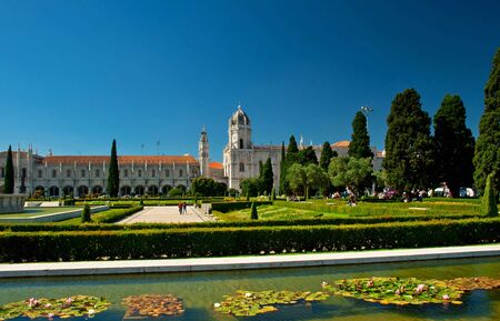 ccedil: The Hieronymites Monastery in Lisbon  Editorial