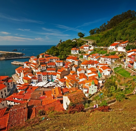 Cudillero Stock Photo