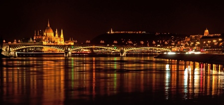Nice view on Budapest, Hungary photo
