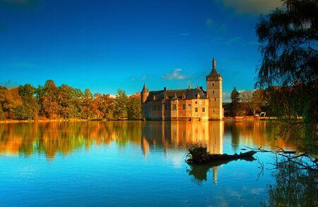 Nice medieval castle in Belgium  Stock Photo - 16652019