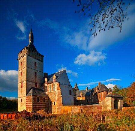 Nice medieval castle in Belgium  Stock Photo - 16652020