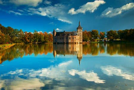 Nice medieval castle in Belgium  Stock Photo - 16652048