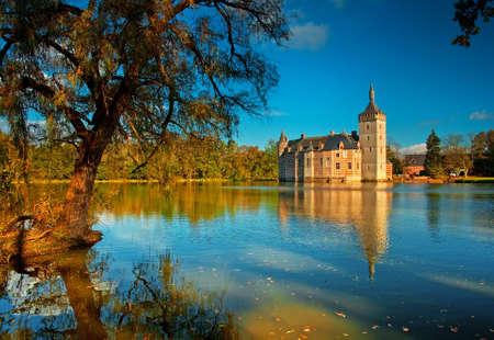 Nice medieval castle in Belgium  Stock Photo - 16652056