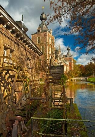 Nice medieval castle in Belgium  Stock Photo - 16652043