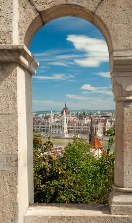 Nice view of Budapest, Hungary  Stock Photo