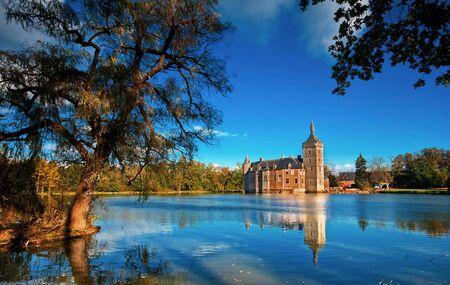 Nice medieval castle in Belgium  Stock Photo - 16742400
