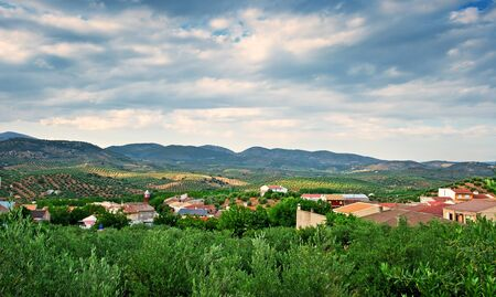 Small village in Spain