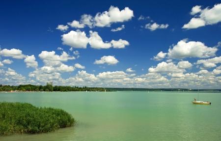 Hungary lake Balaton