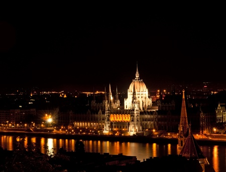 Budapest by night  photo